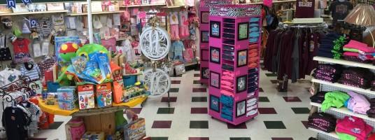 Gift Shop Merchandise